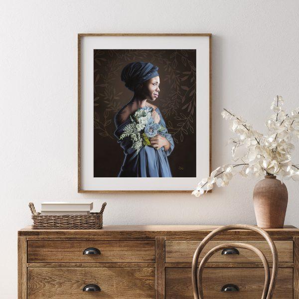 Saint Josephine Bakhita Frame Mockup